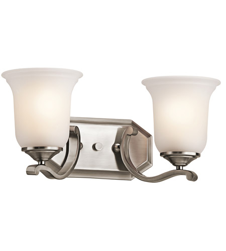 Kichler 45402CLP Wellington Square 2 Light 16 inch Classic Pewter Bath Vanity Wall Light photo