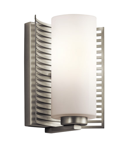 Kichler Lighting Selene 1 Light Wall Bracket in Brushed Nickel 45431NI photo