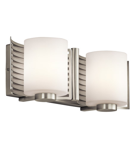 Kichler Lighting Selene 2 Light Bath Wall in Brushed Nickel 45432NI photo