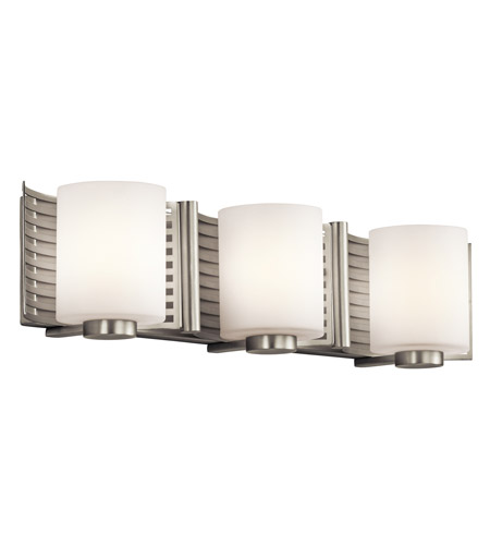 Kichler Lighting Selene 3 Light Bath Wall in Brushed Nickel 45433NI photo