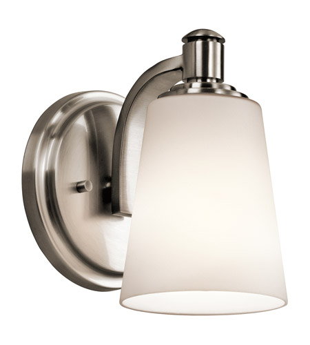 Kichler Quincy 1 Light Wall Bracket in Classic Pewter 45453CLP