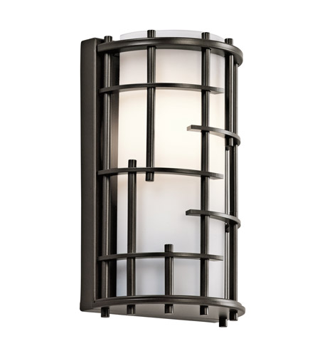 Kichler Tremba 1 Light Wall Sconce in Olde Bronze 45469OZ photo