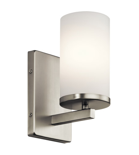 Inch Brushed Nickel Wall Bracket