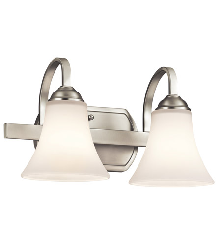 Kichler 45512NIL16 Keiran LED 14 inch Brushed Nickel Vanity Light Wall Light photo
