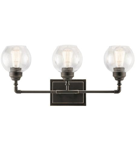 Kichler 45592OZ Niles 3 Light 24 inch Olde Bronze Vanity Light Wall Light