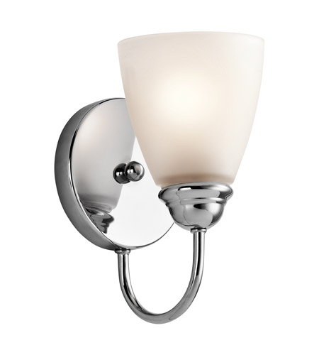 Kichler 45637CHL16 Jolie LED 5 inch Chrome Wall Sconce Wall Light