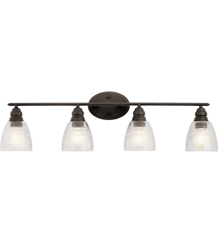 Kichler 45698OZ Karmarie 4 Light 35 inch Olde Bronze Bath Vanity Wall Light alternative photo thumbnail