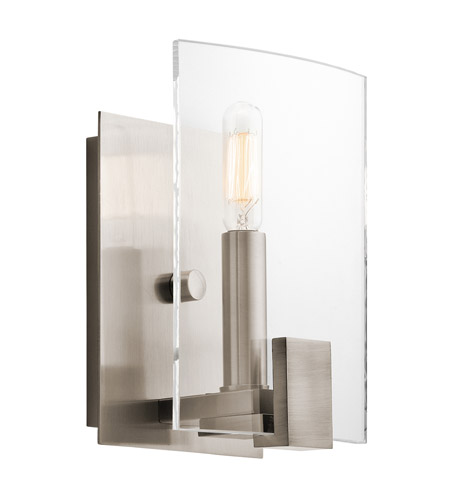 Kichler 45701CLP Signata 1 Light 6 inch Classic Pewter Wall Bracket Wall Light photo