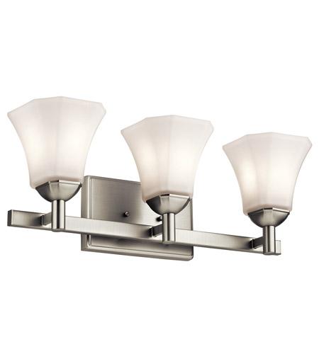 Awesome Kichler 45733NI Serena 3 Light 23 Inch Brushed Nickel Bath Light Wall Light Good Ideas