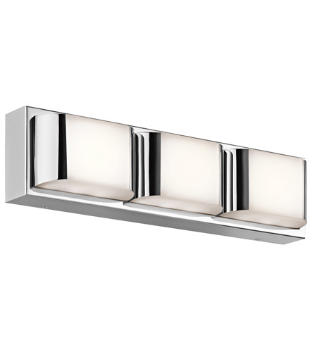 Chrome Steel Nita Bathroom Vanity Lights