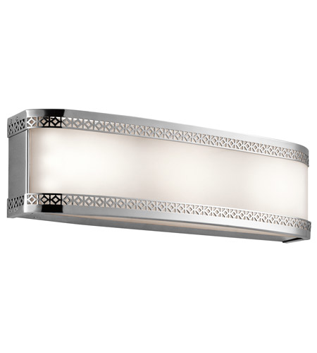 Contessa 3 Light 18 Inch Chrome Bath Wall