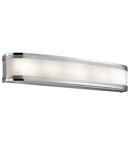 Kichler 45854CHLED Contessa 6 Light 30 inch Chrome Bath Light Wall Light photo