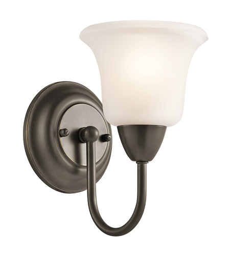Kichler Lighting Nicholson 1 Light Wall Sconce in Olde Bronze 45881OZ