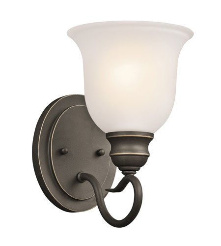 Kichler 45901OZ Tanglewood 1 Light 6 inch Olde Bronze Bath Vanity Wall Light photo