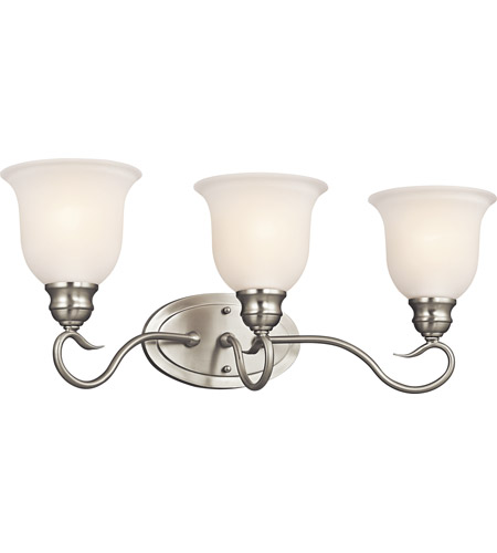 Kichler Lighting Tanglewood 3 Light Bath Vanity in Brushed Nickel 45903NI