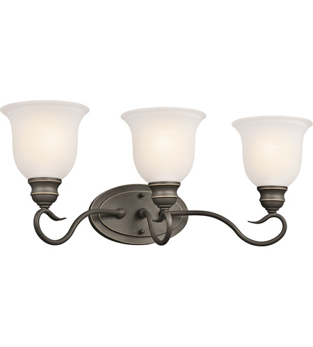 Kichler 45903OZ Tanglewood 3 Light 23 inch Olde Bronze Bath Vanity Wall Light photo