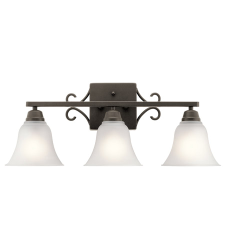 Kichler 45940oz bixler 3 light 24 inch olde bronze vanity light wall kichler 45940oz bixler 3 light 24 inch olde bronze vanity light wall light in standard photo aloadofball Images