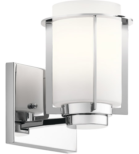 Kichler 45946CH Chagrin 1 Light 6 inch Chrome Wall Sconce Wall Light photo