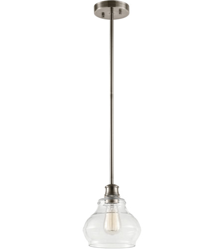Kichler 48103clp schoolhouse 1 light 8 inch classic pewter mini kichler 48103clp schoolhouse 1 light 8 inch classic pewter mini pendant ceiling light aloadofball Image collections