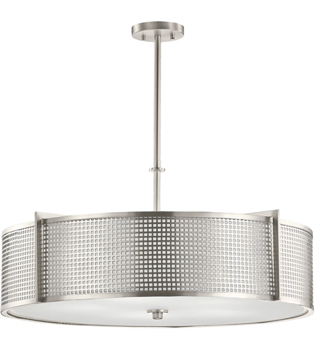 Kichler 48115ni perforated 5 light 30 inch brushed nickel pendant kichler 48115ni perforated 5 light 30 inch brushed nickel pendant ceiling light photo aloadofball Image collections