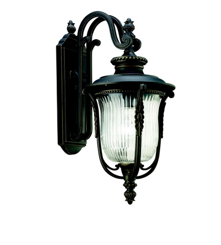 Kichler Lighting Luverne 1 Light Outdoor Wall Lantern in Rubbed Bronze 49002RZ photo
