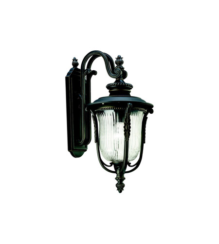 Kichler Lighting Luverne 1 Light Outdoor Wall Lantern in Rubbed Bronze 49003RZ