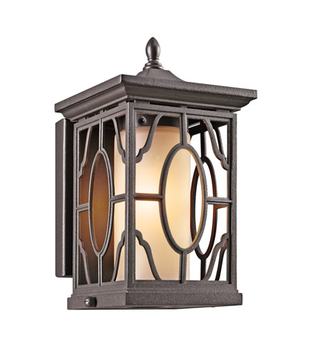 Kichler Lighting Mackenzie 1 Light Outdoor Wall Lantern in Architectural Bronze 49037AZ photo