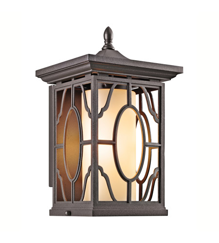 Kichler Lighting Mackenzie 1 Light Outdoor Wall Lantern in Architectural Bronze 49038AZ photo