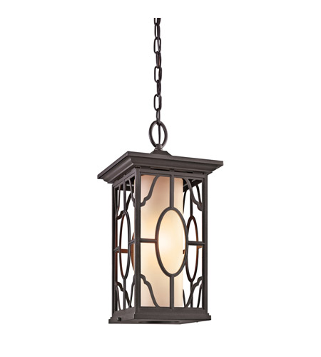 Kichler Lighting Mackenzie 1 Light Outdoor Pendant in Architectural Bronze 49040AZ photo