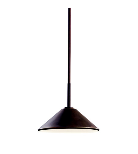 Kichler Lighting Ripley 1 Light Outdoor Pendant in Olde Bronze 49062OZ
