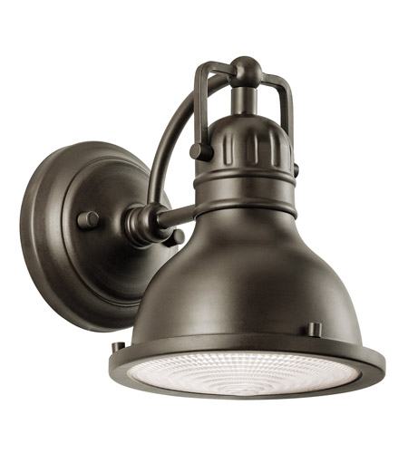 Kichler Lighting Hatteras Bay 1 Light Small Outdoor Wall Lantern in Olde Bronze 49064OZ