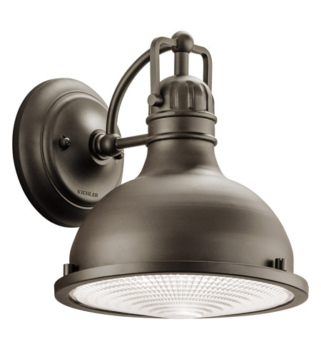 Kichler 49065OZLED Hatteras Bay LED 10 inch Olde Bronze Outdoor Wall - Medium photo