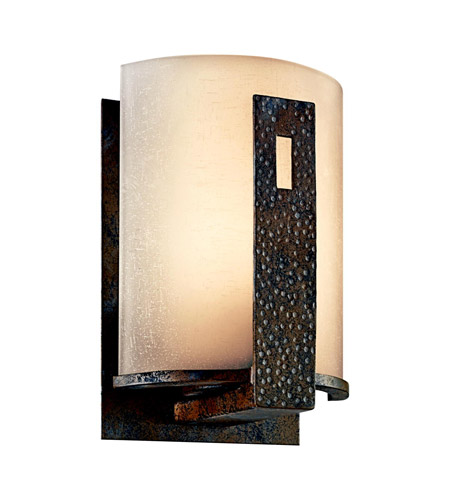 Kichler Lighting Montara 1 Light Outdoor Wall Lantern in Old Iron 49076OI