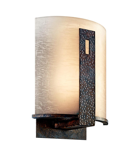 Kichler Lighting Montara 1 Light Outdoor Wall Lantern in Old Iron 49077OI photo