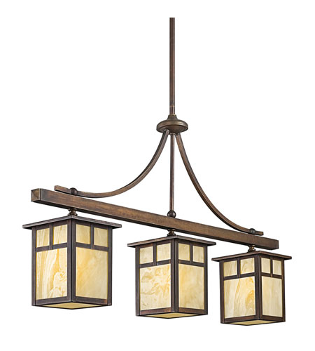 Kichler Lighting Alameda 3 Light Outdoor Hanging in Canyon View 49090CV photo