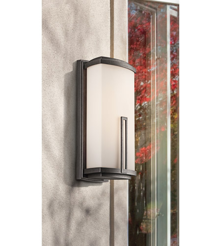 Kichler Lighting Leeds 2 Light Outdoor Wall Lantern in Anvil Iron 49113AVI 49113AV1_Leeds_Outdoor.jpg