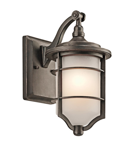 Kichler Lighting Royal Marine Outdoor Wall 1Lt in Olde Bronze 49126OZ