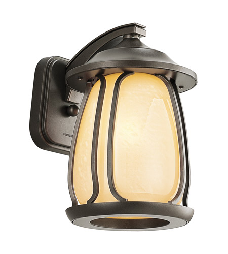 Kichler Lighting Pasadena 1 Light Outdoor Wall Lantern in Olde Bronze 49137OZ