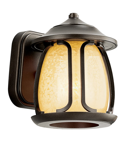 Kichler Lighting Pasadena 1 Light Fluorescent Outdoor Wall Lantern in Olde Bronze 49138OZFL photo