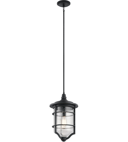 Distressed Black Outdoor Chandeliers