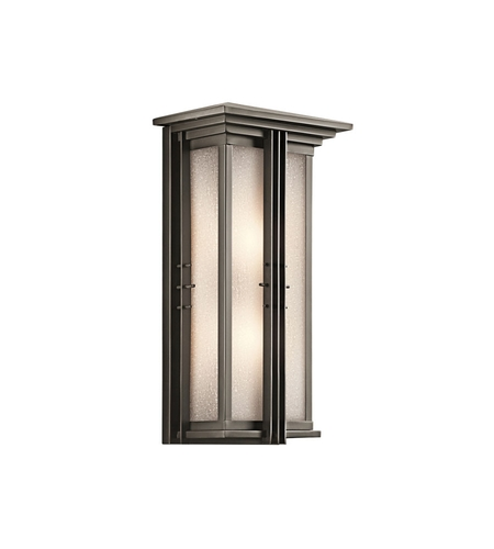 Kichler Portman Square Outdoor Wall Lights