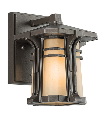 Kichler Lighting North Creek 1 Light Outdoor Wall Lantern in Olde Bronze 49174OZ photo