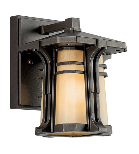 Kichler Lighting North Creek 1 Light Fluorescent Outdoor Wall Lantern in Olde Bronze 49174OZFL photo