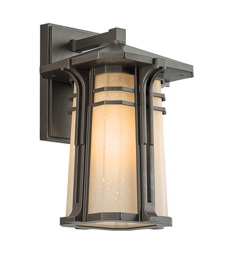 Kichler Lighting North Creek 1 Light Outdoor Wall Lantern in Olde Bronze 49175OZ photo