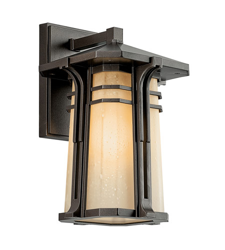 Kichler Lighting North Creek 1 Light Fluorescent Outdoor Wall Lantern in Olde Bronze 49175OZFL photo