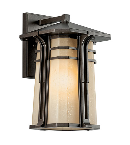Kichler Lighting North Creek 1 Light Fluorescent Outdoor Wall Lantern in Olde Bronze 49176OZFL photo