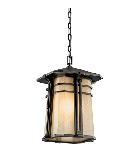 Kichler Lighting North Creek 1 Light Fluorescent Outdoor Ceiling in Olde Bronze 49180OZFL photo