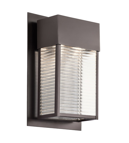 Kichler Sorel 2 Light Xlarge Outdoor Wall in Architectural Bronze 49190AZ photo