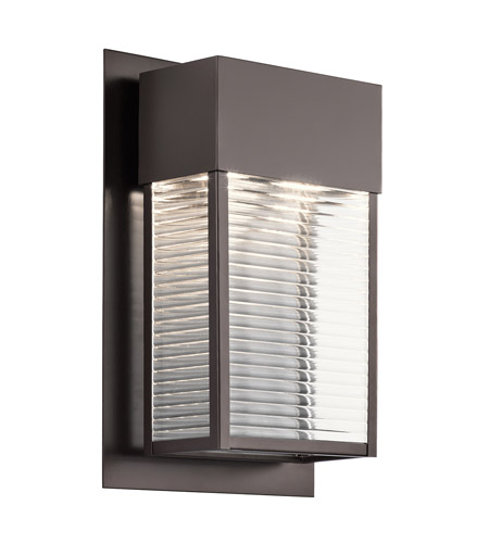 Kichler 49190AZLED Sorel LED 16 inch Architectural Bronze Xlarge Outdoor Wall photo