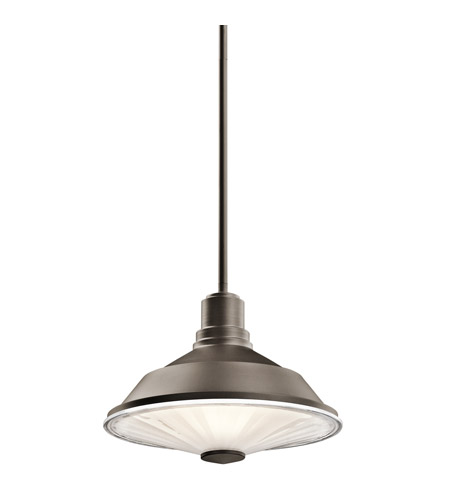 Kichler Lighting Point Judith 1 Light Outdoor Pendant in Olde Bronze 49224OZ